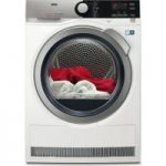 AEG AbsoluteCare T8DEE945R Condenser Tumble Dryer – White, White