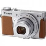 CANON PowerShot G9X MK II High Performance Compact Camera – Silver, Silver