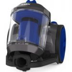 VAX Power Compact Pet CCMBPCV1P1 Cylinder Bagless Vacuum Cleaner – Silver & Blue, Silver