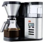 MELITTA AromaElegance Deluxe Filter Coffee Machine – Black & Stainless Steel, Stainless Steel