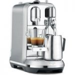 NESPRESSO by Sage Creatista Plus BNE800BSS Coffee Machine – Stainless Steel, Stainless Steel
