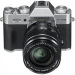 FUJIFILM X-T20 Mirrorless Camera with 18-55 mm f/2.8-4 Lens – Silver, Silver