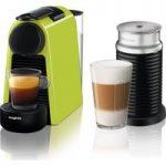 NESPRESSO by Magimix Essenza Mini Coffee Machine with Aeroccino – Lime Green, Lime