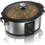 TOWER T16011 Slow Cooker – Stainless Steel, Stainless Steel