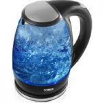 TOWER T10004 Glass Jug Kettle – Black, Black