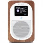 PURE Evoke H3 Portable DAB/FM Bluetooth Clock Radio – Walnut