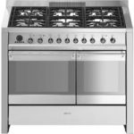 SMEG Opera 100 cm Dual Fuel Range Cooker – Stainless Steel, Stainless Steel