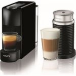 NESPRESSO by Krups Essenza Mini XN111840 Coffee Machine with Aeroccino – Black, Black
