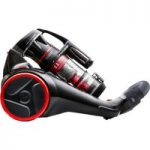 HOOVER Synthesis ST71ST02 Cylinder Bagless Vacuum Cleaner – Black & Red, Black
