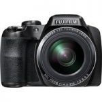 FUJIFILM FinePix S9800 Bridge Camera – Black, Black