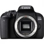 CANON EOS 800D DSLR Camera – Black, Body Only, Black