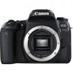 CANON EOS 77D DSLR Camera – Black, Body Only, Black