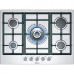 SIEMENS iQ300 EC715RB90E Gas Hob – Stainless Steel, Stainless Steel