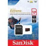 SANDISK Extreme Class 10 microSDXC Memory Card – 128 GB