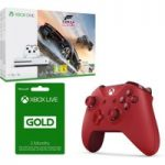 MICROSOFT Xbox One S, Forza Horizon 3, 3 Month Xbox LIVE Gold Membership & Controller Bundle, Gold
