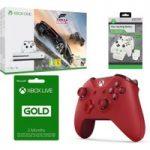 MICROSOFT Xbox One S, Forza Horizon 3, 3 Month Xbox LIVE Gold Membership & Accessories Bundle, Gold