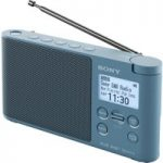 SONY XDR-S41D Portable DABﱓ Clock Radio – Blue, Blue