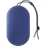 B&O B&O BEOPLAY P2 Portable Bluetooth Wireless Speaker – Royal Blue, Blue