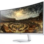 SAMSUNG C34F791 Quad HD 34″ Curved LED Monitor – Silver, Silver