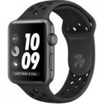 APPLE WATCH NIKE 42MM SPGR ANTHBLK-GBR