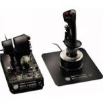 THRUSTMASTER Hotas Warthog Joystick & Throttle – Black, Black