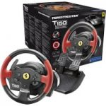 THRUSTMASTER TS150 Ferrari Edition PlayStation & PC Gaming Wheel – Black, Black