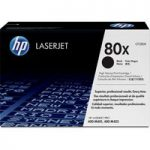 HP 80X Black Toner Cartridge, Black