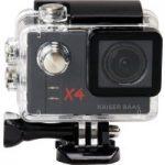 KAISER BAAS X4 Action Camcorder – Black, Black