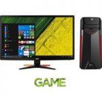 ACER Predator GX-781 Gaming PC & Full HD 24″ 3D LED Monitor Bundle