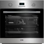 LOGIK LBMFMX17 Electric Single Oven – Stainless Steel, Stainless Steel
