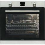LOGIK LBLFANX17 Electric Oven – Inox & Black, Black