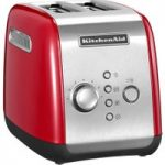 KITCHENAID 5KMT2116BER 2-Slice Toaster – Red, Red