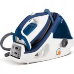 TEFAL Pro Express Plus GV8932 High Pressure Steam Generator Iron – Blue & White, Blue