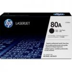 HP HP 80A Original LaserJet Black Toner Cartridge, Black