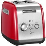 KITCHENAID 5KMT221BER 2-Slice Toaster – Empire Red, Red