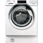 HOOVER HBWD 8514TAHC Integrated 8 kg Washer Dryer – White, White