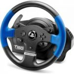 THRUSTMASTER TS150 RS PlayStation & PC Gaming Wheel – Black, Black