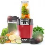 NINJA BL480UKMR Blender – Metallic Red, Red