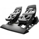THRUSTMASTER TFRP Flight Rudder Pedals – Black, Black