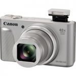 CANON PowerShot SX730 HS Superzoom Compact Camera – Silver, Silver