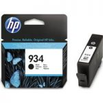HP 934 Black Original Ink Cartridge, Black