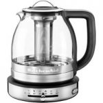 KITCHENAID Artisan 5KEK1322BSS Jug Kettle – Clear Glass