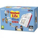 NINTENDO 2DS & Tomodachi Life – Red & White, Red