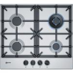 NEFF T26DS59N0 Gas Hob – Stainless Steel, Stainless Steel