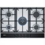 NEFF T27DA69N0 Gas Hob – Stainless Steel, Stainless Steel