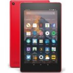 AMAZON Fire 7 Tablet with Alexa (2017) – 8 GB, Punch Red, Red