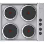 BOSCH Serie 2 PEE689CA1 Electric Solid Plate Hob – Steel