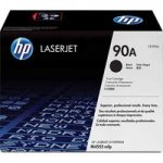 HP 90 A Original LaserJet Black Toner Cartridge, Black