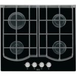 AEG HG653431NB Gas Hob – Black, Black