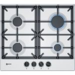 NEFF T26DS49W0 Gas Hob – White, White